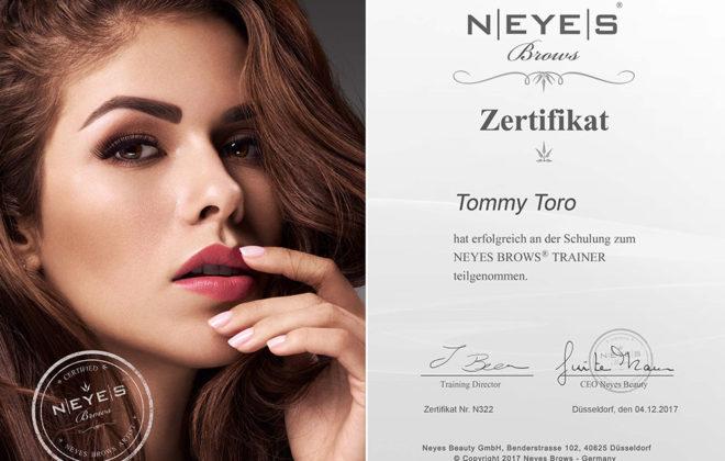 NEYES-Brows-Zertifikat-TommyToro